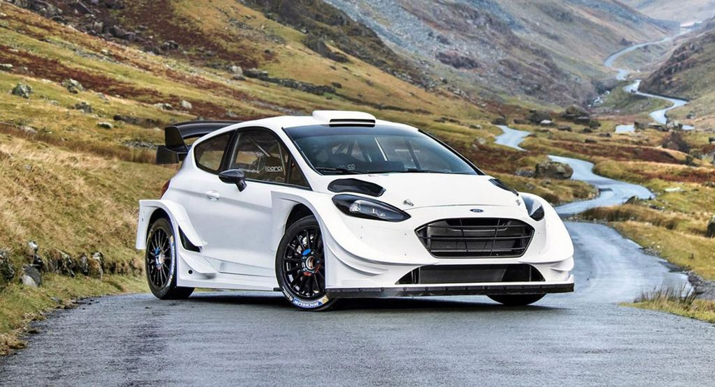 M Sport Reveals 2017 Ford Fiesta Wrc Machine Produces 380 Hp