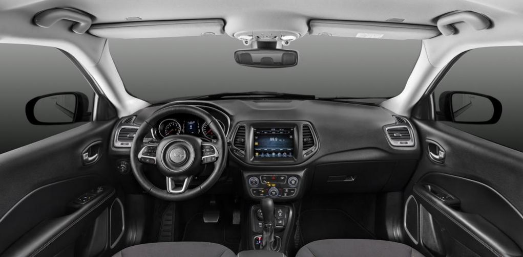 2017 Jeep Compass India Interior Launch