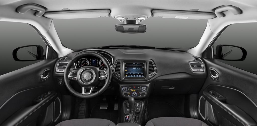 2017 jeep compass interior india. Black Bedroom Furniture Sets. Home Design Ideas