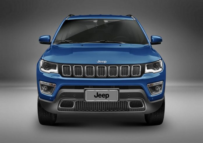 2017 Jeep Compass India Launch Grille
