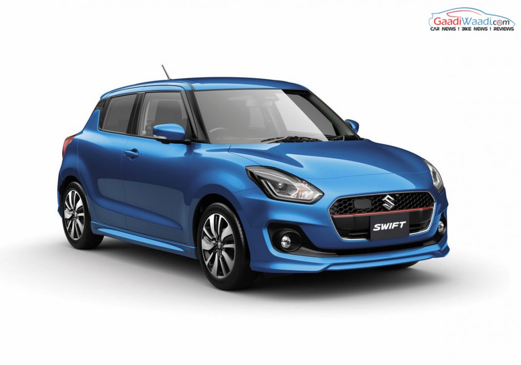 2017 Maruti Suzuki Swift india_