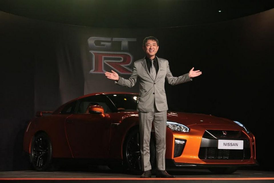 2017 Nissan GT-R India launch 2