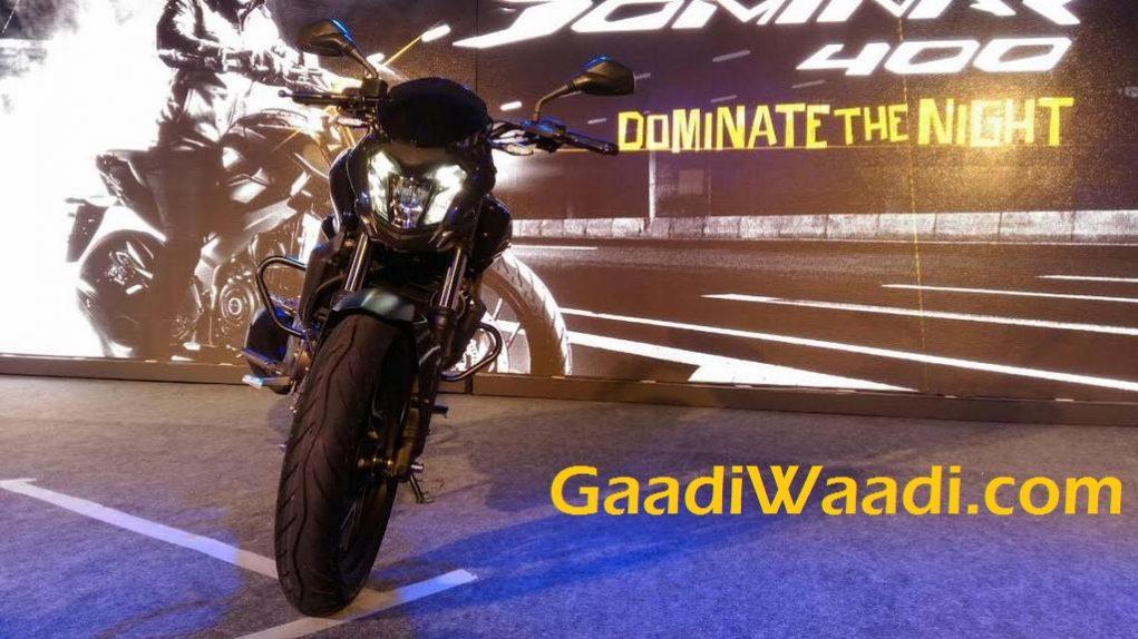 Bajaj Dominar 400 India Launch 3
