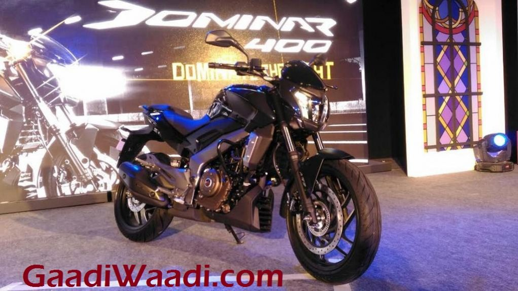 Bajaj Dominar 400 export