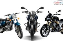 Bajaj Dominar 400 vs Royal Enfield Classic 350 vs Mahindra Mojo 2