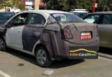 Chevrolet Beat Essentia Spied India