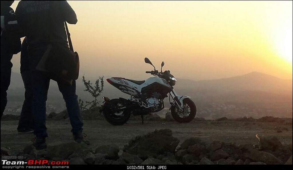 DSK Benelli TNT 135 India Spotted