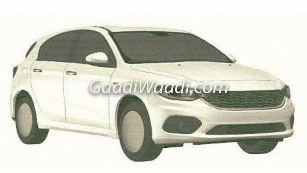 Fiat Tipo Hatchback India Patented