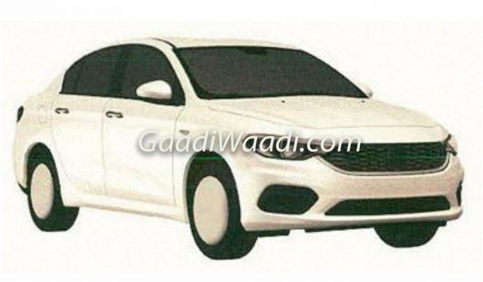Fiat Tipo Sedan India Patented