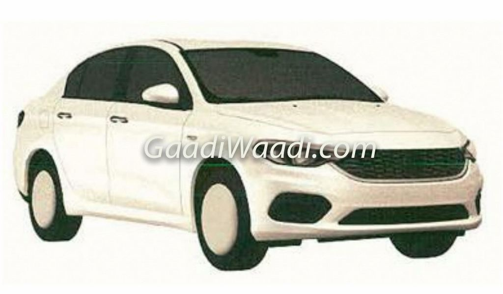 Fiat Tipo Sedan India Patented