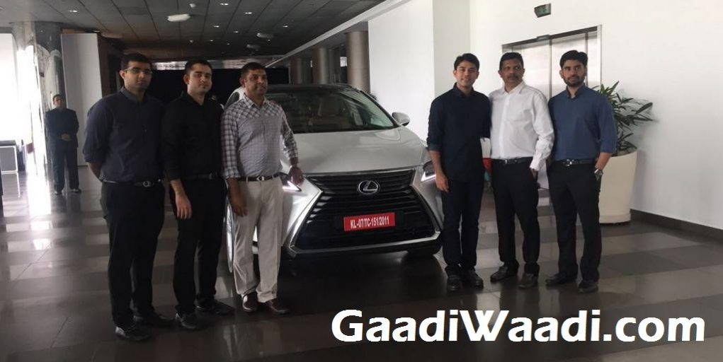 First Lexus RX450h Delivered in India 1