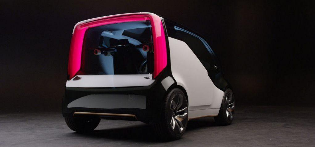 Honda NevV EV Concept 2017 CES 1
