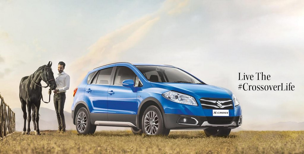 Maruti Suzuki S-Cross 16-inch Gun Metal Alloy Rims