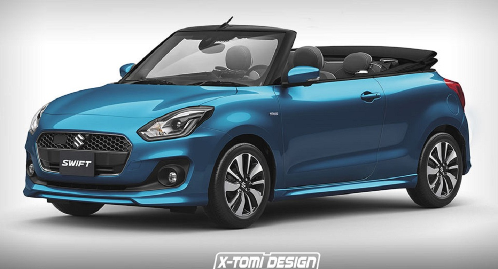 Mini Cooper Convertible Used >> Would You Fancy a Maruti Suzuki Swift Convertible ...