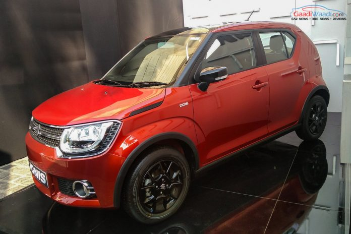 15 things you should know about upcoming maruti suzuki ignis suv. Black Bedroom Furniture Sets. Home Design Ideas