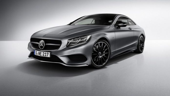 Mercedes-Benz S-Class Coupe Night Edition 1