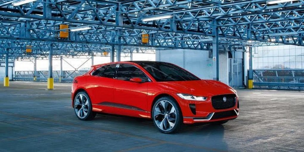 Photon Red I-Pace Concept Jaguar