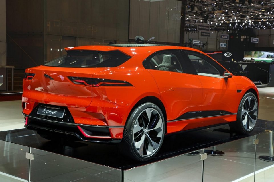 Photon Red I-Pace Concept Jaguar 4