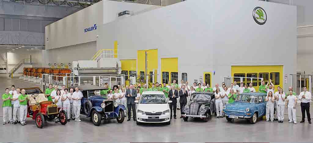 Skoda rolls out 19th million vehicle