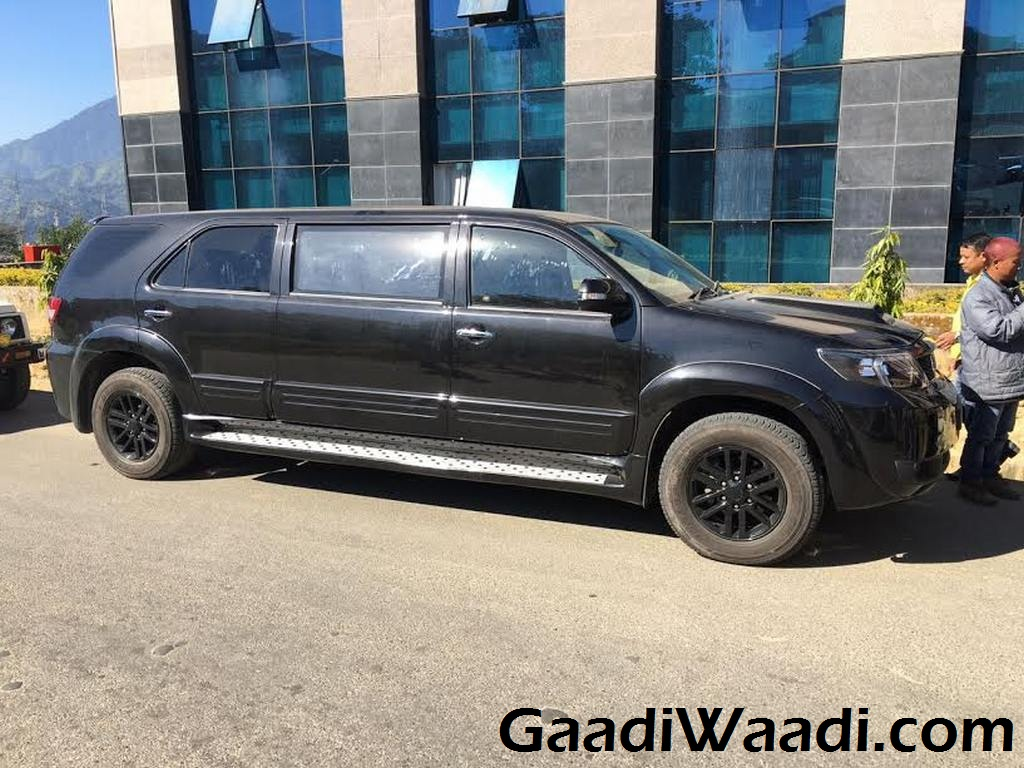 Toyota Fortuner Limousine Takes Customisation To New Level