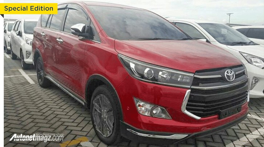 Range-Topping Toyota Innova Venturer Edition Launched In