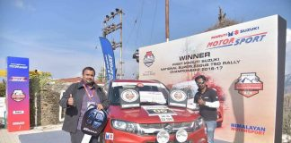 Rally of Himachal Karthick Maruthi Champion 2