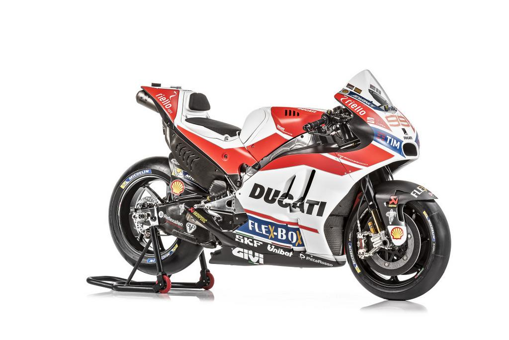 2017 Ducati MotoGP Team Unveiled with Desmosedici GP17 Machine's Livery