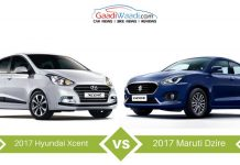 2017 Maruti Suzuki Dzire vs 2017 Hyundai Xcent Facelift – Specs Comparison