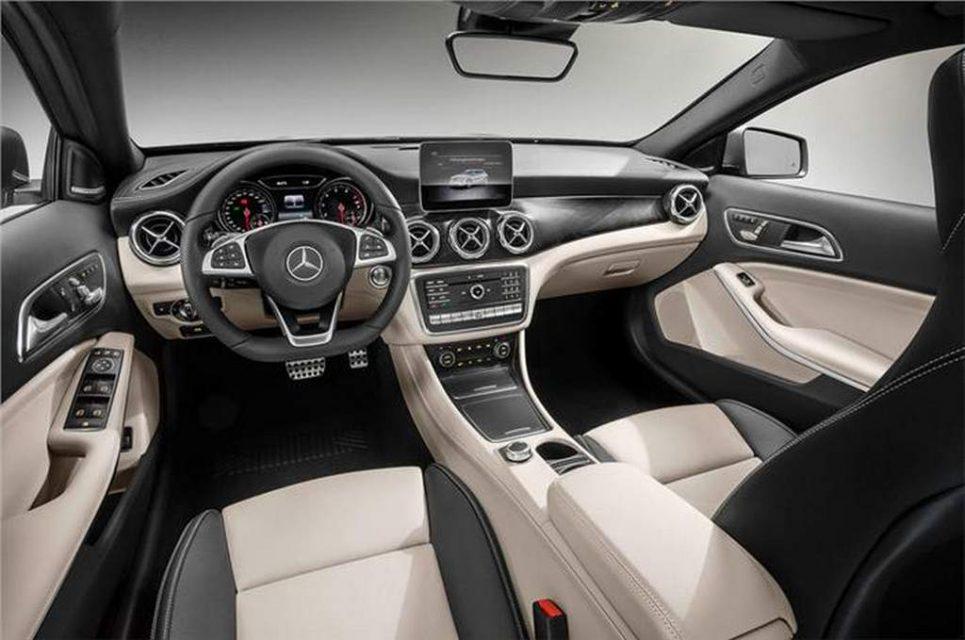 2017 Mercedes GLA Facelift India 2