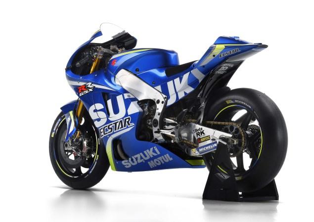 2017 Suzuki GSX-RR MotoGP Bike 2