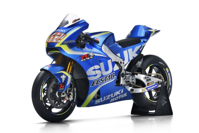 2017 Suzuki GSX-RR MotoGP Bike 9