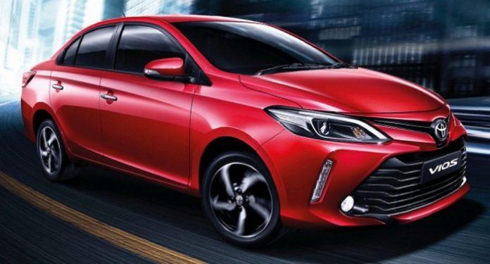 2017 Toyota Vios facelift