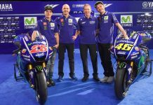 2017 Yamaha MotoGP team and livery 2