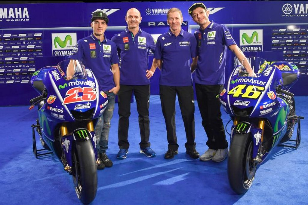 2017 Yamaha MotoGP team and livery 2