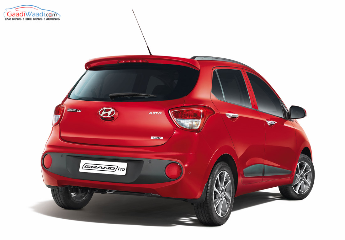 2017 Hyundai Grand i10 Facelift Launched in India - Price, Specs, Features