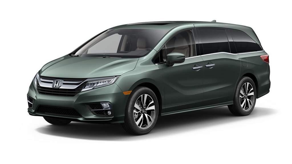 2018 Honda Odyssey revealed 1
