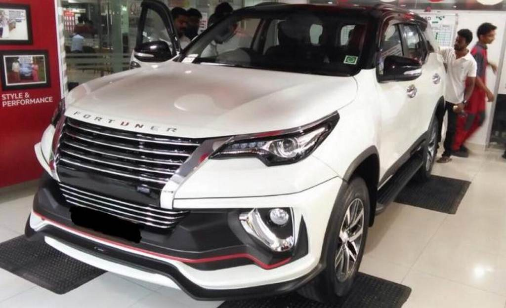 Customised Toyota Fortuner with Nippon Body kit 2