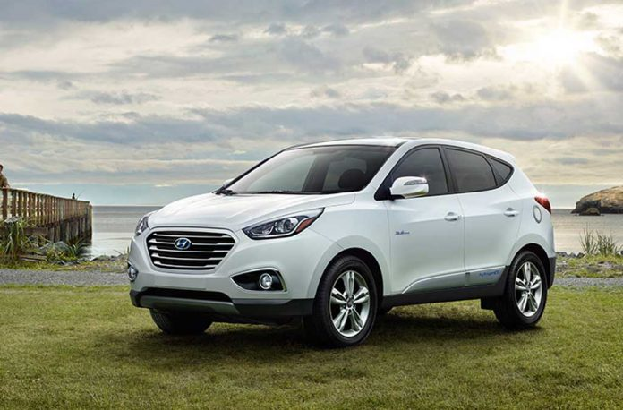 2018 Hyundai Tucson Fuel Cell