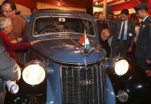 Indian President Reveals Netaji Subhas Chandra Bose's Restored Vintage Car 1