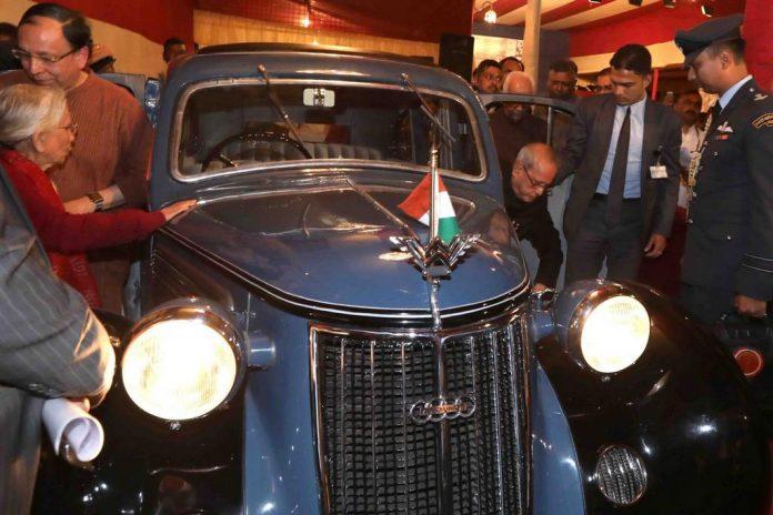 Indian President Reveals Netaji Subhas Chandra Bose's Restored Vintage Car 1