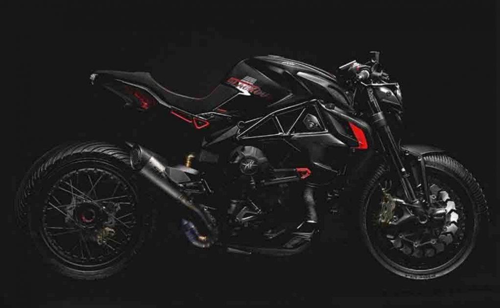MV Agusta Dragter Blackout 1