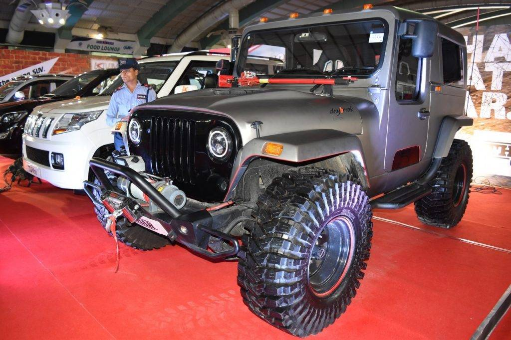 Mahindra Thar Daybreak Edition with Solid Roof