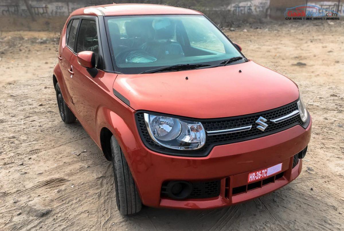 Explore The Maruti Suzuki Ignis Delta Variant In Pics And