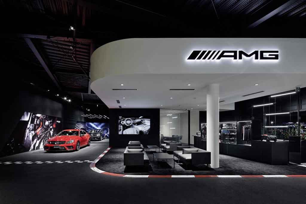 Mercedes-AMG Showroom Tokyo