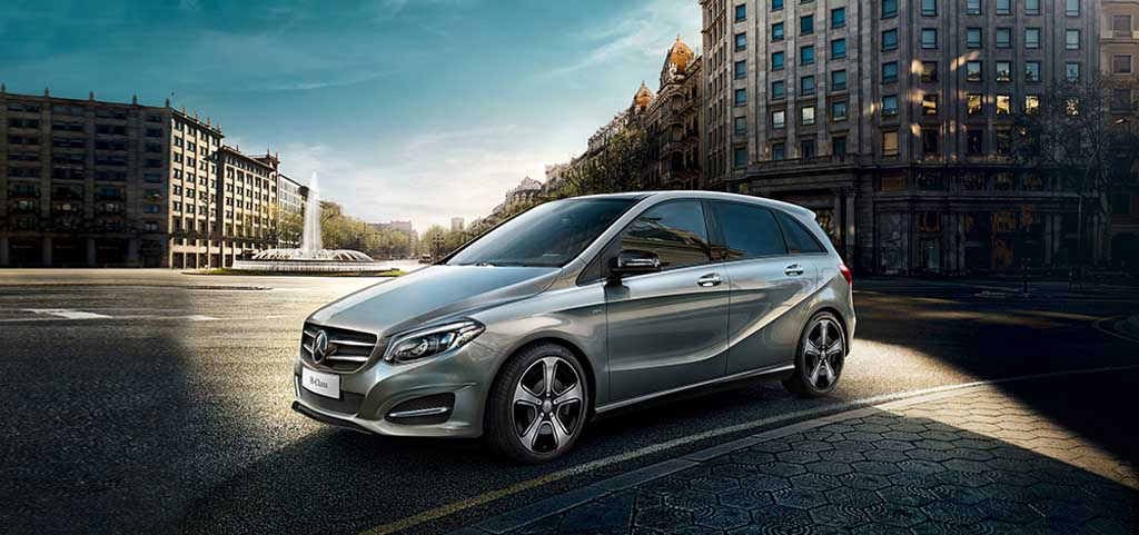 mercedes benz a and b class night editions launched in india. Black Bedroom Furniture Sets. Home Design Ideas