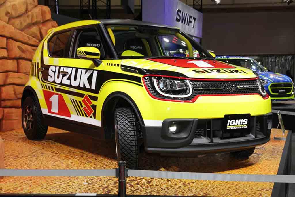 Suzuki Ignis Motocross Style Edition Showcased At Tokyo