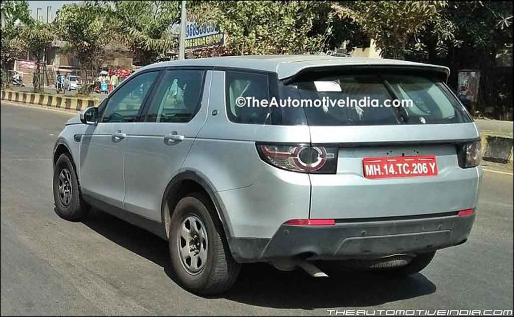 Tata q501 spied testing in land rover discovery sport disguise for Tata motors range rover
