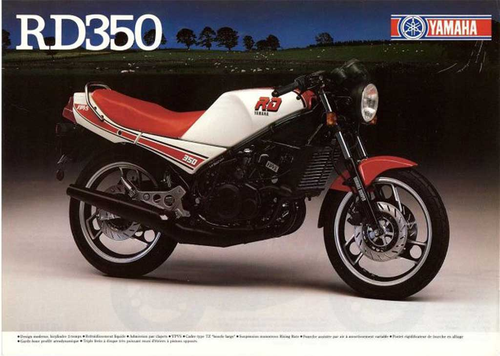 yamaha xsr300 to resurrect the legacy of iconic rd350. Black Bedroom Furniture Sets. Home Design Ideas