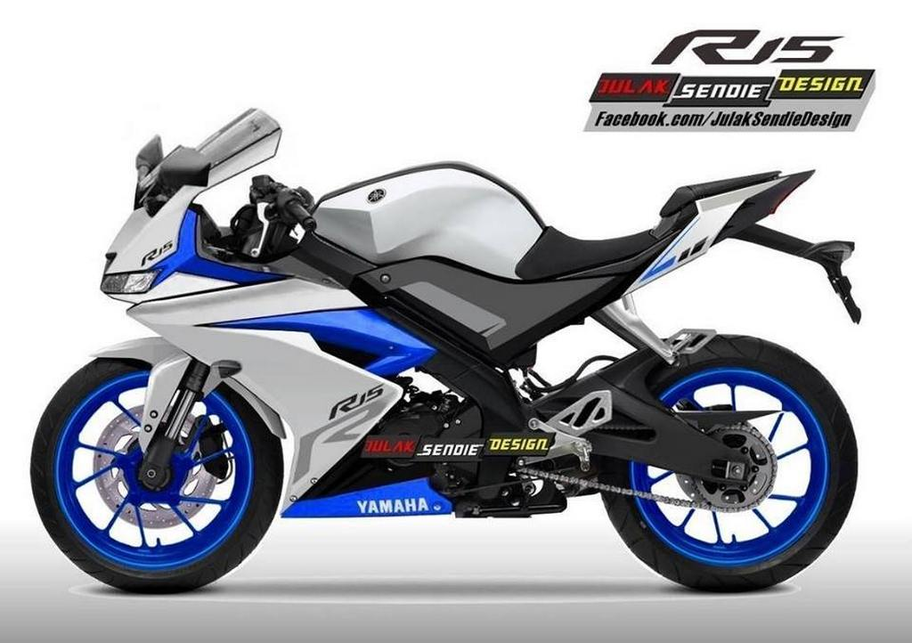 Red White And Blue Auto Sales >> Yamaha YZF R15 V3.0 India Rendering 1 - Gaadiwaadi.com