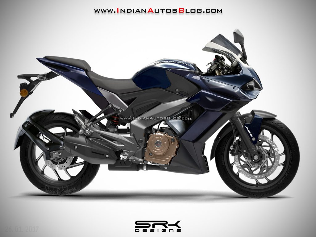 Fully Faired Bajaj Dominar 400ff Rendered A Possible Ktm